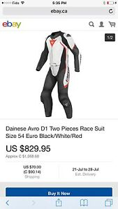 Dainese Avro D1 JACKET ONLY Size 52