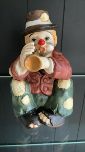 Vintage Schmid Hobo Clown Music Box