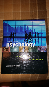 Psychology themes & variations 7th edition Haberfield Ashfield Area Preview