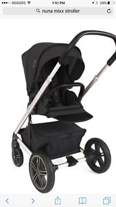 NUNA Mixx 2016 Stroller with car seat adaptors