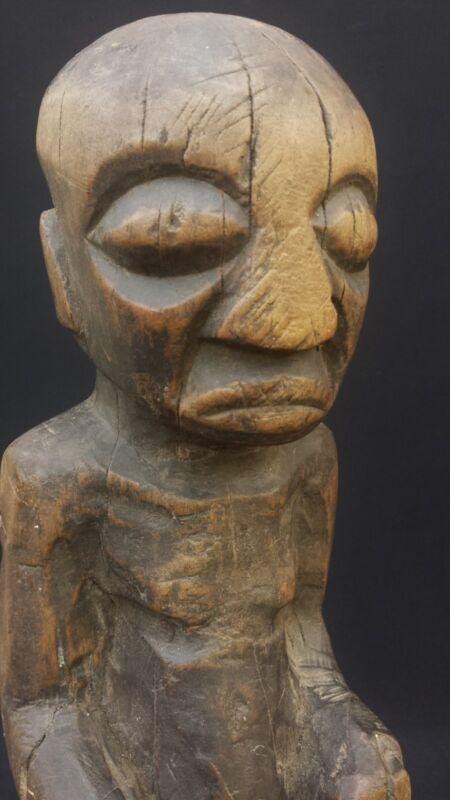 KUBA KING AFRICAN FIGURE - ZAIRE