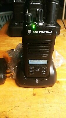 Xpr3500 Vhf 136-174 Mhz.radio Battery Wcharger