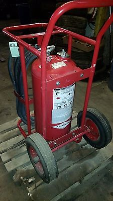 Amerex 488 Wheeled Abc Dry Chemical Fire Extinguisher With Hose