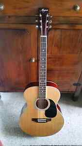 Acoustic guitar Magnum in soft carry case Stafford Heights Brisbane North West Preview