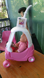 Baby born cozy coupe with doll Redcliffe Redcliffe Area Preview