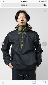 A BATHING APE PULLOVER SHARK JACKET - M