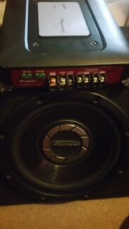 Brand new Pioneer 600w Sub with 760w Amp South Brisbane Brisbane South West Preview