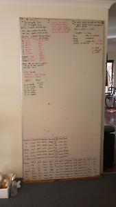 Whiteboard  220cm x 120cm White Gum Valley Fremantle Area Preview