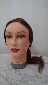 One unused hair mannequin + one used + clam Burwood Whitehorse Area Preview