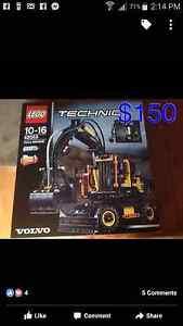 Lego Technic Volvo EW160E Midland Swan Area Preview