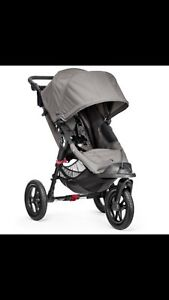Baby Jogger City Elite Single Stoller  Grey