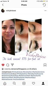 Experience I lash tech looking for more clients