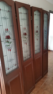 2 sets of glass stained Bi fold doors (4 individual doors) South Penrith Penrith Area Preview