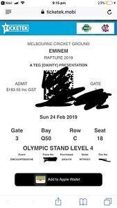 Eminem Rapture Tour Melbourne