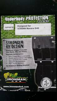 D40 Ironman Underbody Protection Plates as new