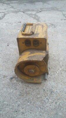 Engine Mount Belt Drive Generator -model 1300 3000 Rpm 110 110 Volt 4 Outlets