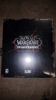 World Of Warcraft Cataclysm Collectors Edition Brand New Factory Sealed In Box
