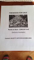 DRY FIRE WOOD FOR SALE !!
