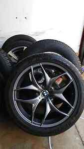 """4X BMW X5 style 20"""" wheels and tyres South Granville Parramatta Area Preview"""