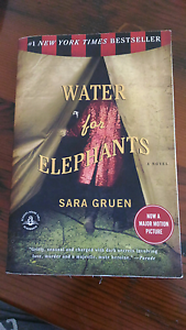 Water for elephants, by Sara Gruen Lindfield Ku-ring-gai Area Preview