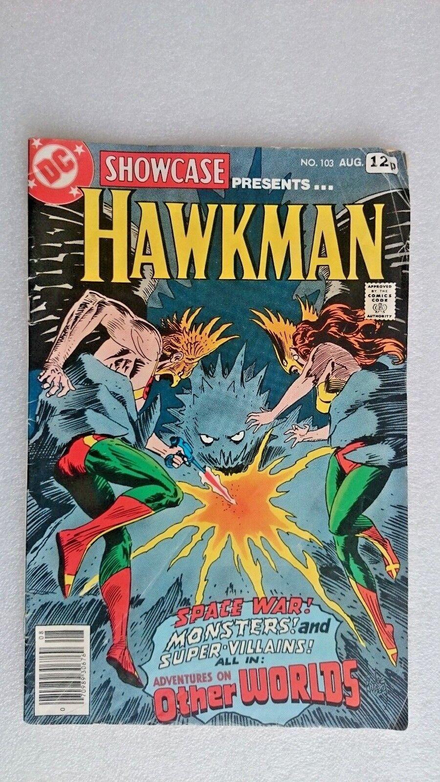 Hawkman  DC Comic Issue Aug No 103 (1978)