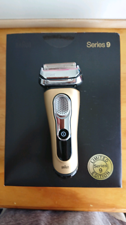 Braun Series 9 Wet/Dry Electric Shaver Gold Edition