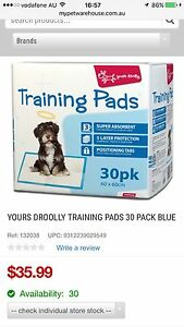 38 puppy pads for toilet training Mount Hawthorn Vincent Area Preview