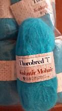 Thorobred Kashmir Mohair 11 balls knitting wool crotchet light bl Fairfield West Fairfield Area Preview
