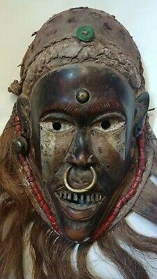 CHOKWE AFRICAN MASK - ANGOLA