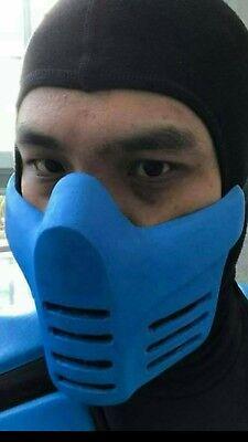 Scorpion Mask (Mortal kombat sub zero, scorpion reptile)