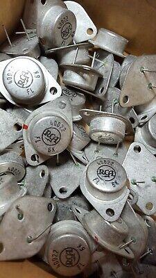 Rca Germanium Power Transistor 40022 2n375 Ecg104 Nte104 1 Piece Nos