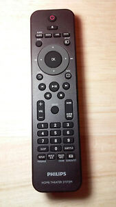 PHILIPS  Home Theater System Remote. For HTS3154  HT3154/01  HTS3544     HTS3276
