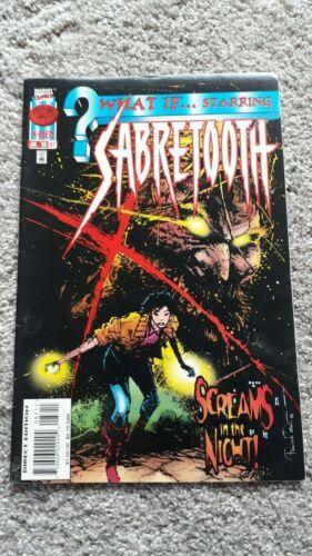 Marvel Comics - What If - No 87 - JUL 1996 - Sabretooth