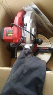 Drop saw and circular saw