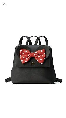 KATE SPADE x DISNEY MINNIE MOUSE SAFFIANO LEATHER BACKPACK $328