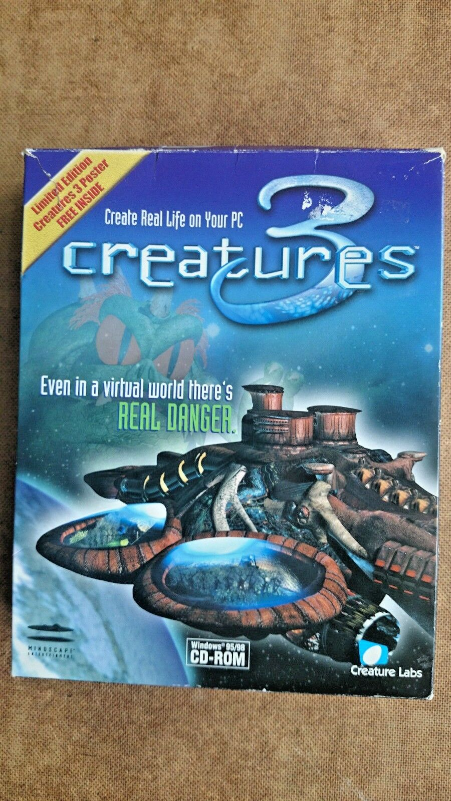 Creatures 3 (PC: Windows, 1999) - European Version - Big Box Edition