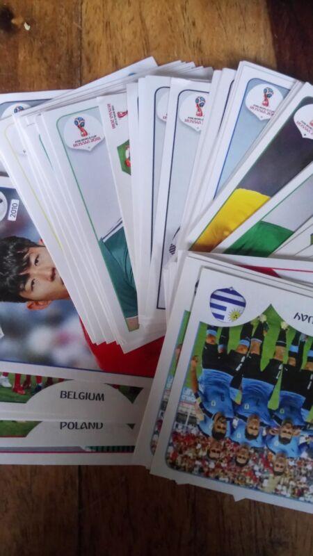 Panini Russia World Cup 2018 Stickers Choose 10