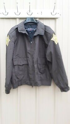 Lawrence Co IN Sheriff Jacket Brown by Horace Small Professional Apparel XL Reg