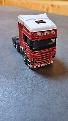 Corgi model trucks 1:50 scale PRESTONS OF POTTO SCANIA UNIT