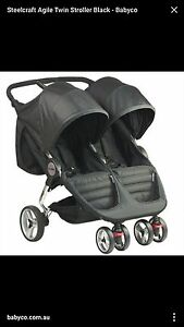 steelcraft agile twin stroller Yagoona Bankstown Area Preview