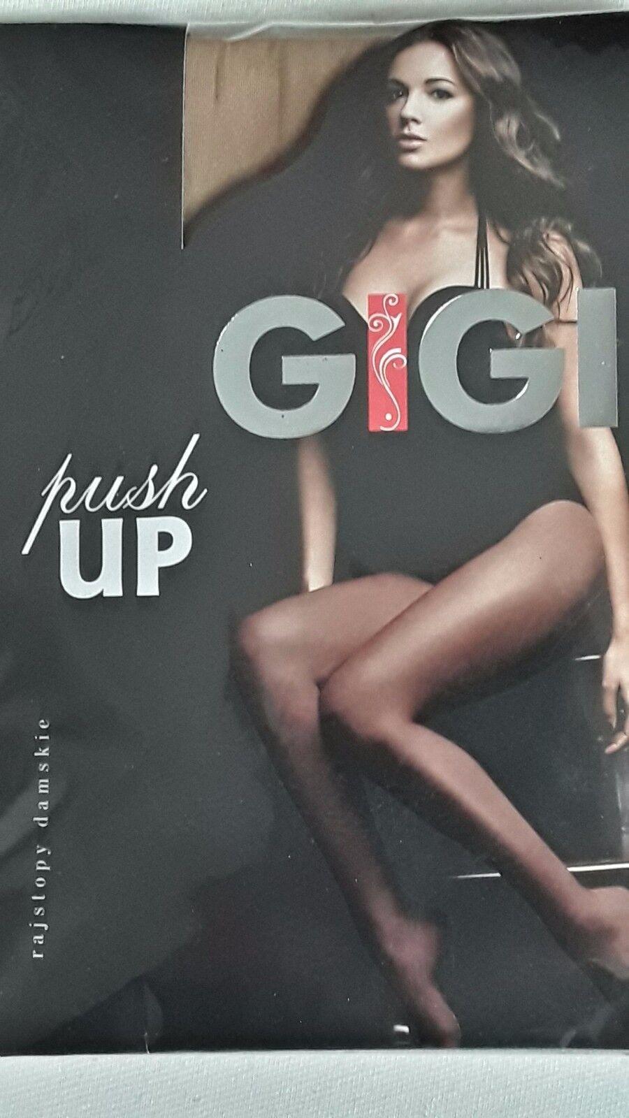 GIGI Push-up Strumpfhose Bauch- Beine- Po mit LYCRA® - Beige - Neu
