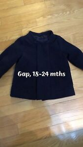 Girls gap coat, size 18-24 mths