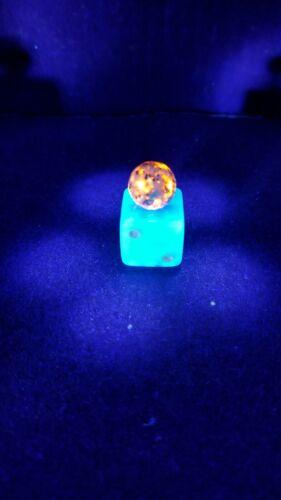 "Sphere Round VeryBright Yooper Stone Yooperlite Lake Superior Glowing Rock 1/2"""