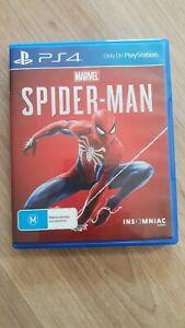 Spiderman game for PS4