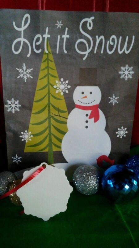 Christmas Snow Flake Ornaments 2 SIDED WHITE Aluminum Sublimation Blanks $0.85ea