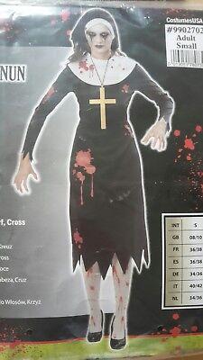 Nonne Vampir Kostüm Zombie Gr. L 40/42 Krimi Total - Die Pracht der Vampire (Kostüme Der Vampire)
