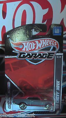 HOT WHEELS GARAGE 2011 68 CHEVY NOVA NEW MINT VHTF
