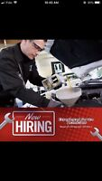 LUBE TECHNICIANS WANTED