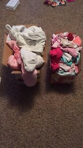 Huge lot of 0-6 month girls clothing