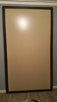 2x Magnetic framed notice boards